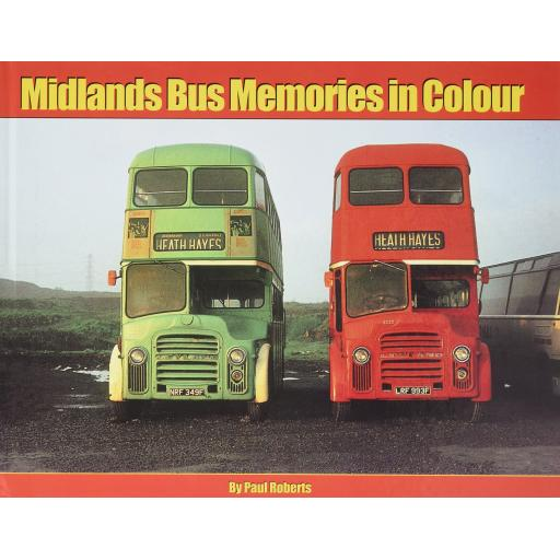 Midlands Bus Memories in Colour