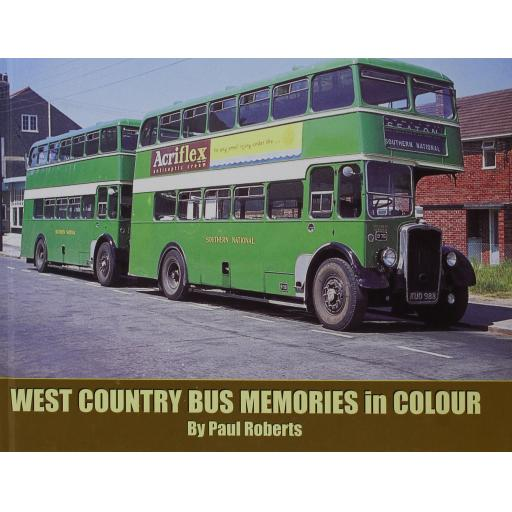 West Country Bus Memories in Colour (ALMOST OUT OF PRINT)